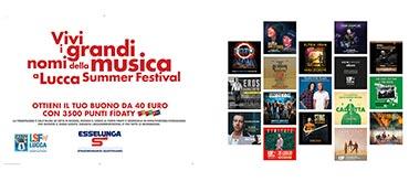Con Esselunga al Lucca Summer Festival